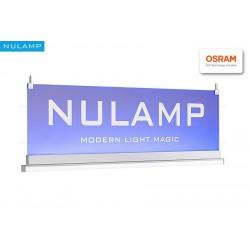 Lampa NULAMP GIP QUADRO W PLEXI 100cm, 22W + 22W, 2100lm + 2100lm, 3000K, Ra80