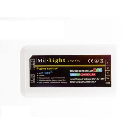 Odbiornik 18A RF 2.4G 4-strefowy RGB