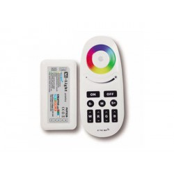 Sterownik RGB+W pilot radiowy dotykowy RF 24A 2.4Ghz