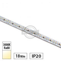Listwa LED OSRAM 18W/m, 1850lm/m, 24VDC, IP20, 3000K, 0,96m, gwarancja 3 lata