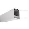 Profil LED DES, aluminium anodowane, profil do podwieszenia 1m