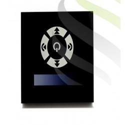 Ściemniacz LED z panelem dotykowym 12/24V DC, czarny