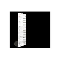 Plansza nr 1 (30 x 100cm) do oświetlenia LED