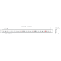 Taśma LED 8K-WP-K-1210-12V 4.8 W/m
