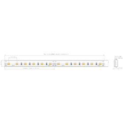 Taśma LED 8K-WP-K-27/65-1920-24V 19.2W/m